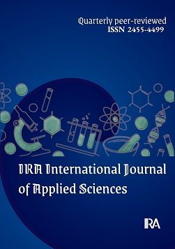 IRA International Journal of Applied Sciences