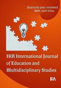 IRA International Journal of Education and Multidisciplinary Studies